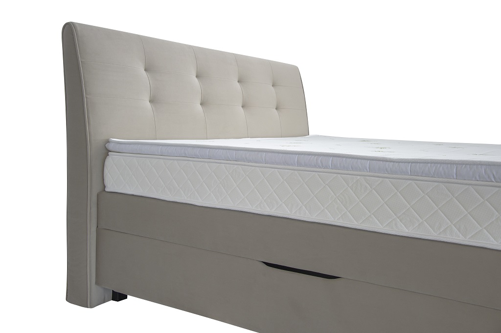 Masivní rám boxspring postele Charles