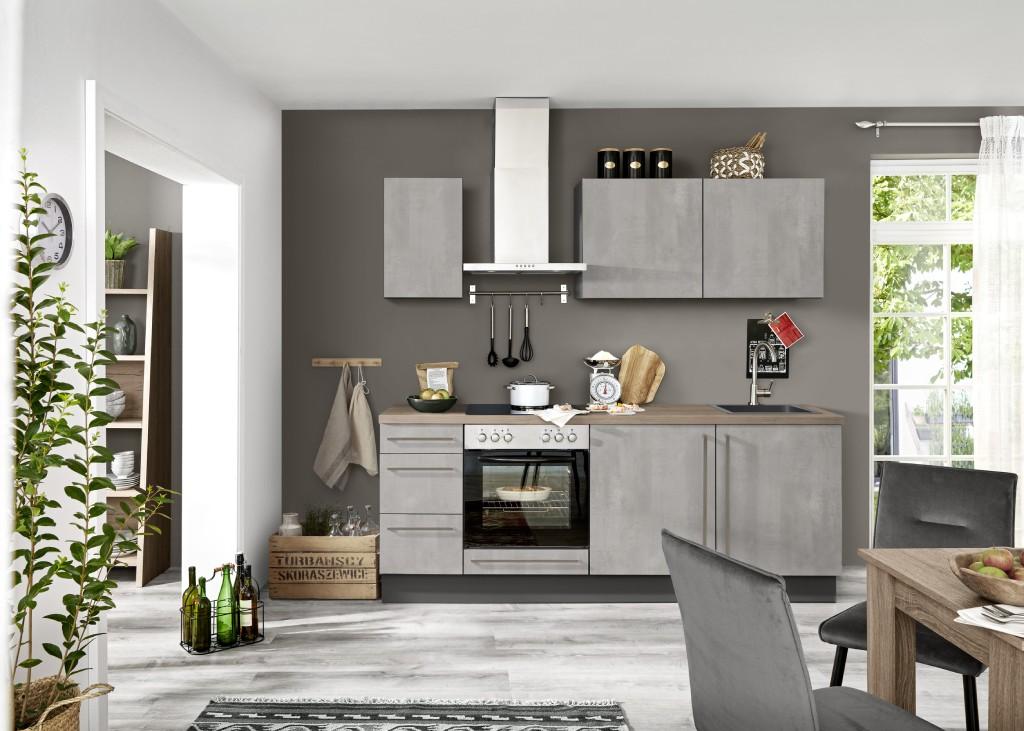 Sivá  kuchyňa Henry Style Ute
