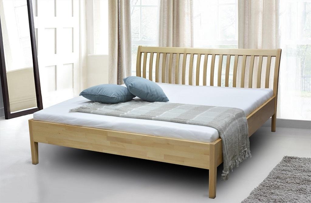 Dřevěná postel Apolonia 180x200 buk