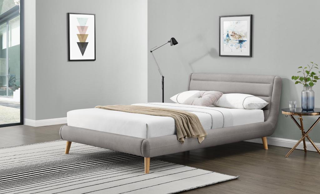 Čalouněná postel Elanda 160x200, vč. roštu bez matrace a úp