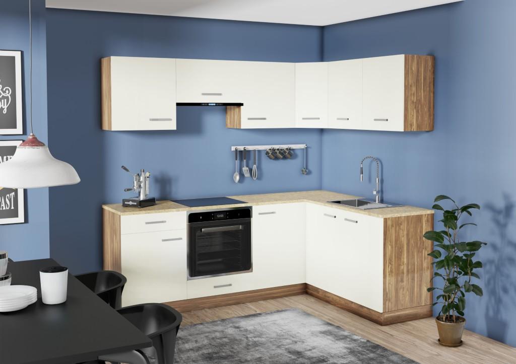 Kuchyňa do L Evelin v interiéri
