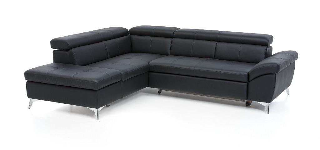 Kožená sedačka Barx