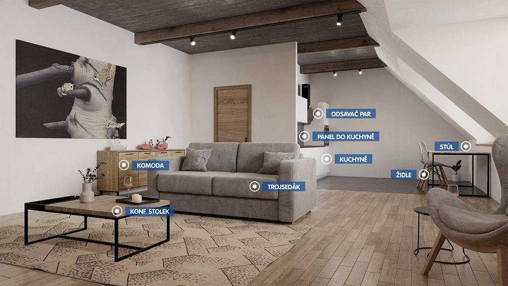 Obývací pokoj - sestava