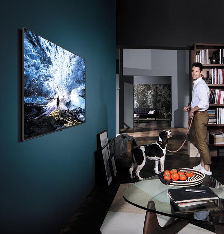 Čas vašeho domova QLED TV