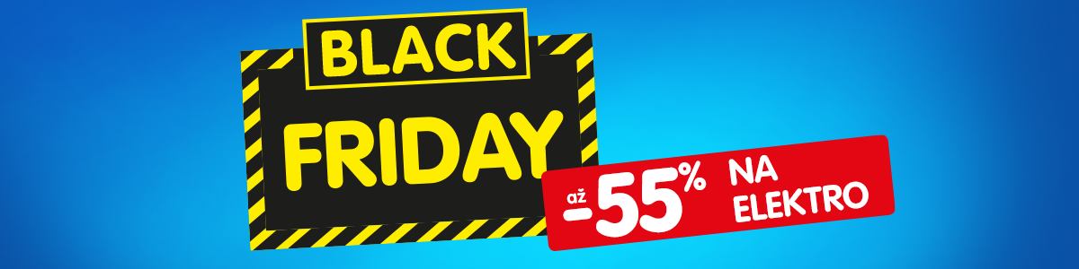 Black Friday až -55 %