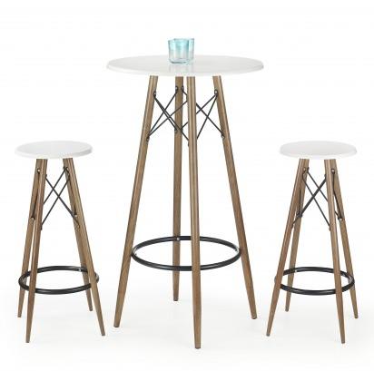 barový stůl a židle