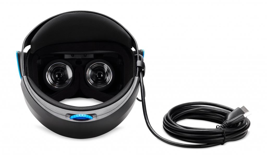 Acer headset inside