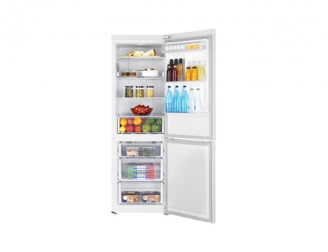 Kombinovaná lednice s mrazákem dole Samsung RB33N340NWW