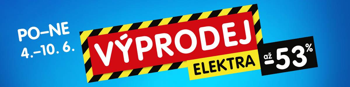 Velký sezónní výprodej elektra v OKAY je tady! Využij slevu až 53 % a nakup elektro za parádní ceny!