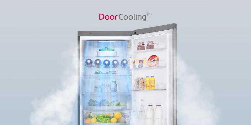 Technologie DoorCooling+™ od LG
