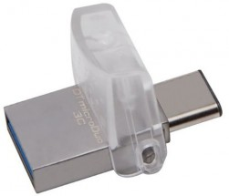 128GB Kingston DT microDuo 3C, USB 3.0/3.1 +Type-C