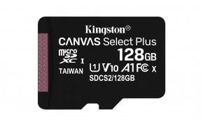128GB microSDXC Kingston Canvas Select Plus  A1 CL10 100MB/s