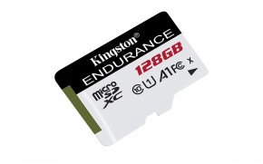 128GB microSDXC Kingston Endurance CL10 A1 95R/45W