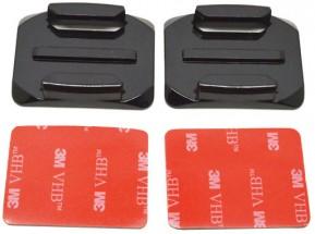 2 nalepovací držáky pro zaoblené plochy (s 3M) NICEBOY#