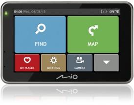 """2v1 Kamera+GPS Mio Combo 5207,Truck, 5"""", 44 zemí,LM +8GB SDkarta"""