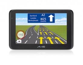 """2v1 Kamera+GPS Mio MiVue Drive 50, 5"""", 130°, 44 zemí, LM"""