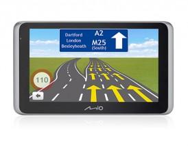 """2v1 Kamera+GPS Mio MiVue Drive 65 6,2"""", Truck, 140°, 43 zemí, LM"""