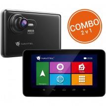 """2v1 Kamera + GPS Navitel RE900, 5"""" doživotní aktualizace"""