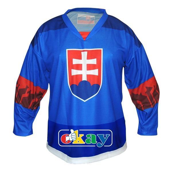 3D brýle Hokej. dres SK,znak, modrý
