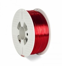 3D filament Verbatim, PET-G, 1,75mm, 1000g, 55054, transp. red