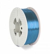 3D filament Verbatim, PET-G, 1,75mm, 1000g, 55056, transp. blue