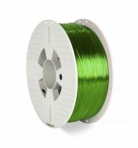3D filament Verbatim, PET-G, 1,75mm, 1000g, 55057, transp. green
