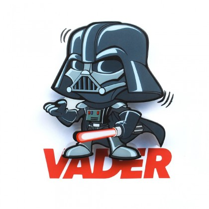 3D LIGHT FX světlo 3D Mini EP7 - Darth Vader