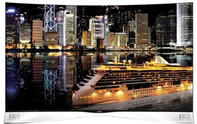 3D televize LG 55EA980V