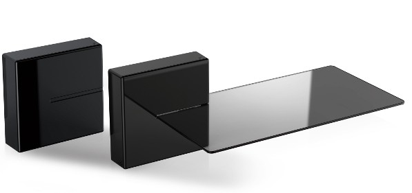 480521 GHOST CUBE SHELF BLACK