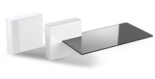 480522 GHOST CUBE SHELF WHITE