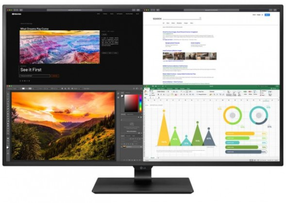 "4K monitor LG 43UN700-B.AEU, 43"", 8 ms, 60 Hz, černá"