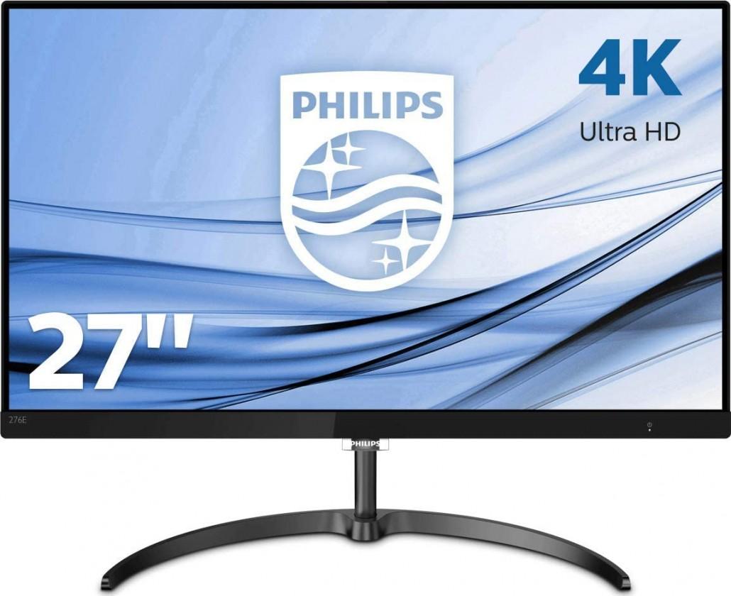 """4K monitory 4K monitor Philips 276E8VJSB, 27"""", 5ms, 60 Hz, černá"""