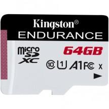64GB microSDXC Kingston Endurance CL10 A1 95R/45W