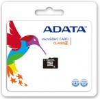 A-Data micro SDHC 32GB class 4 + adaptér