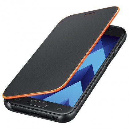 A3 (2017) Flipové neonové pouzdro Black