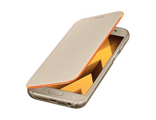 A3 (2017) Flipové neonové pouzdro Gold