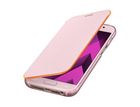 A3 (2017) Flipové neonové pouzdro Pink