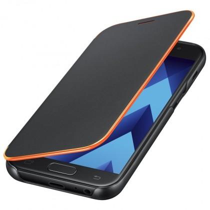 A5 (2017) Flipové neonové pouzdro Black