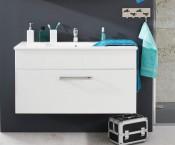 Adamo - Umyvadlová skříňka 100 cm - 1 zásuvka (bílá)