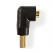 Adaptér Nedis HDMI/HDMI, zahnutý