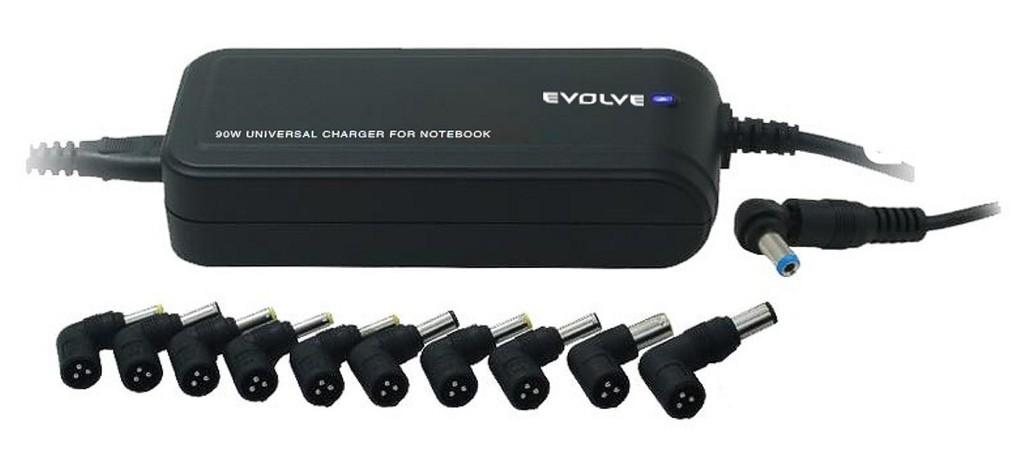 Adaptéry síťový adaptér EVOLVEO GLOBAL LITE 90W