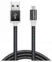 Adata AMUCAL-100CMK-CBK Micro USB, 1m, černý