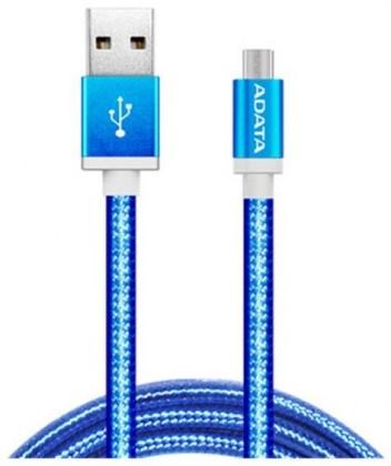Adata AMUCAL-100CMK-CBL Micro USB, 1m, modrý