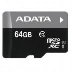 ADATA Micro SDXC Premier 64GB UHS-I AUSDX64GUICL10-R ROZBALENO