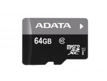 ADATA Micro SDXC Premier 64GB UHS-I AUSDX64GUICL10-R