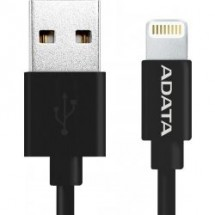 ADATA Synchr a napájecí kabel, USB, MFi (iPhone, iPad, iPod),bk