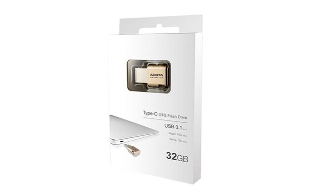 ADATA UC350 32GB (AUC350-32G-CGD) zlatá