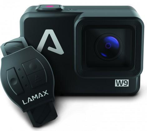 Akční kamera Lamax W9, 4K, Wi-Fi, elekt.stabilizace +17ks přísl.