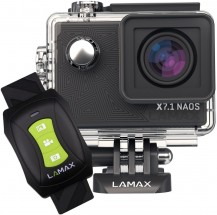 """Akční kamera Lamax X7.1 Naos 2"""", 4K, WiFi, 170°+ přísl."""