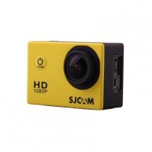 Akční kamera SJCAM SJ4000 + hromada příslušenství, žlutá
